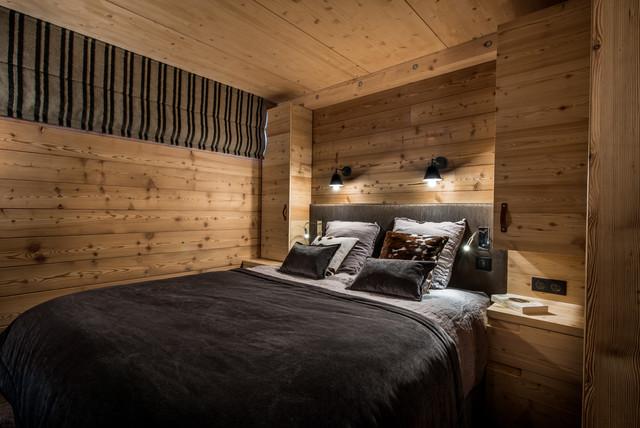 Aménagement et décoration d'un appartement en montagne   Rustic