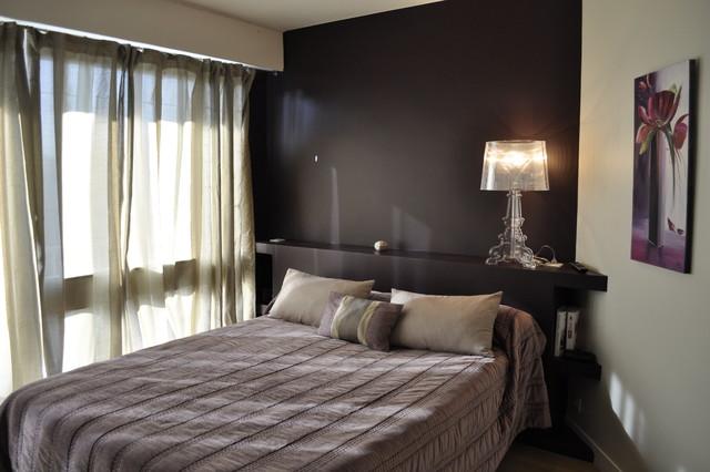 appartement au chic parisien chambre. Black Bedroom Furniture Sets. Home Design Ideas