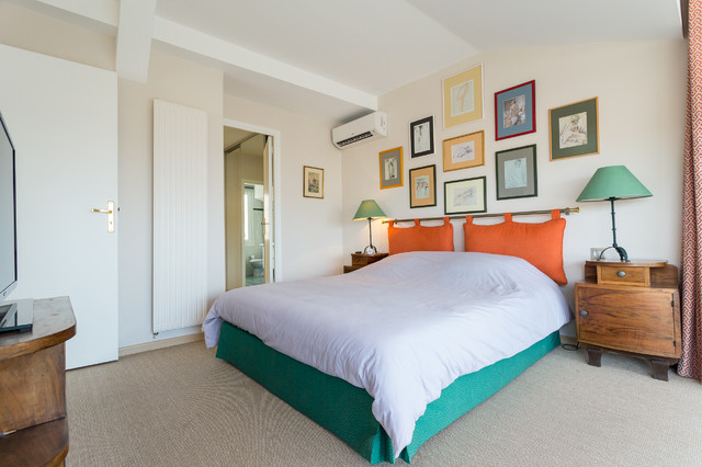 Appartement cannes eclectic bedroom nice by for Appartement design cannes