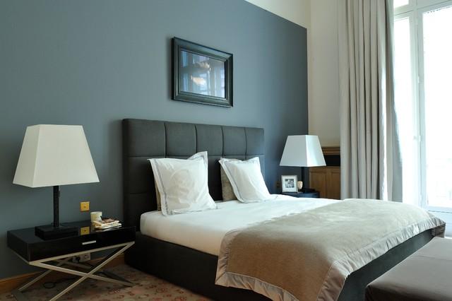 appartement flamant klassisch modern schlafzimmer paris von pfbdesign architecte d. Black Bedroom Furniture Sets. Home Design Ideas