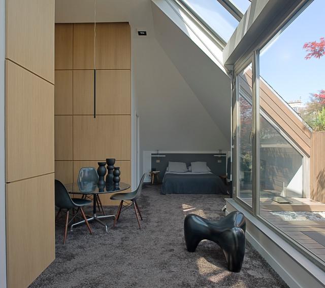 appartement le marais rue du parc royal paris 3. Black Bedroom Furniture Sets. Home Design Ideas