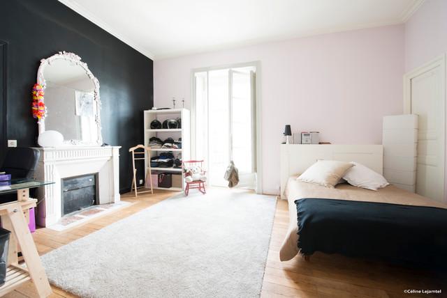 appartement style haussmannien nantes classique chic chambre other metro par clj photo. Black Bedroom Furniture Sets. Home Design Ideas