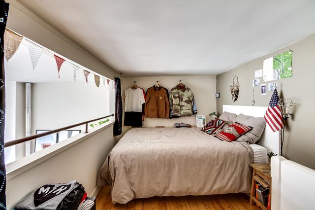 avenue junot contemporary bedroom paris by meero. Black Bedroom Furniture Sets. Home Design Ideas
