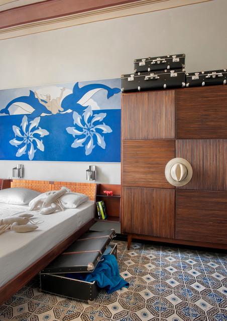 Bocadasse mediterraneo camera da letto milano di bernard touillon photographe - Camera da letto milano ...
