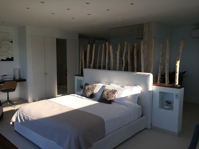 bois flotté en décoration dans une maison en bord de mer