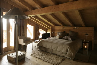 chalet creytoral contemporain chambre lyon par caf de balme. Black Bedroom Furniture Sets. Home Design Ideas