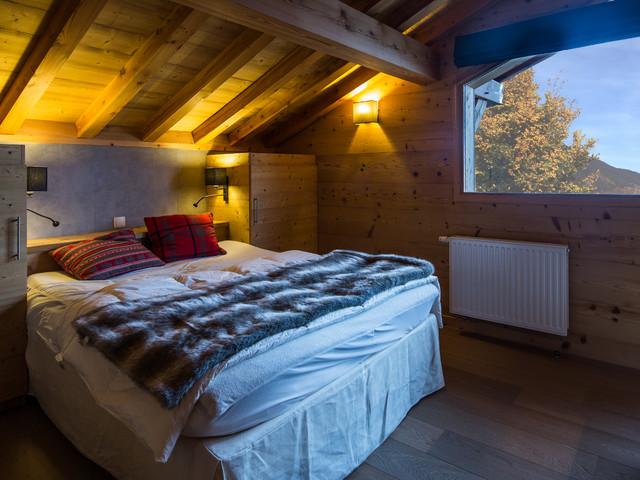 chalet m l ze aux gets montagne chambre lyon par chalets carme. Black Bedroom Furniture Sets. Home Design Ideas