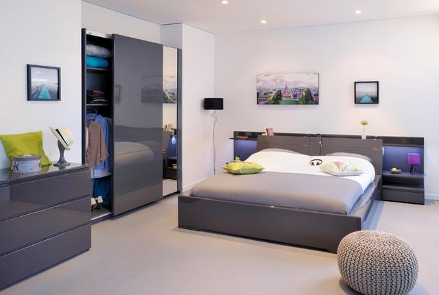 Chambre à coucher Adulte COCOON - Contemporain - Chambre ...