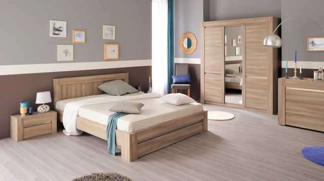 Chambre coucher adulte douglas contemporain chambre for Photo de chambre a coucher adulte