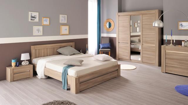 Chambre à coucher Adulte DOUGLAS - Modern - Schlafzimmer ...