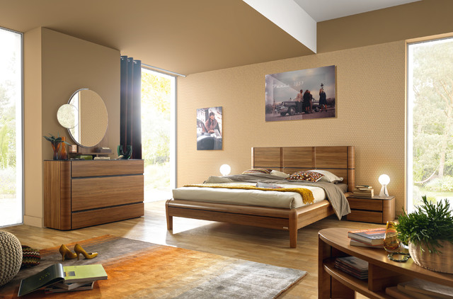 chambre coucher contemporain chambre clermont ferrand par meubles cavagna. Black Bedroom Furniture Sets. Home Design Ideas