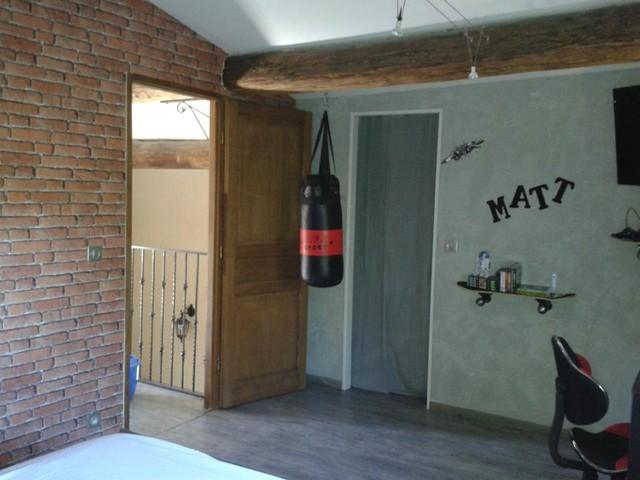 chambre ado street industriel chambre - Eclairage Chambre Ado