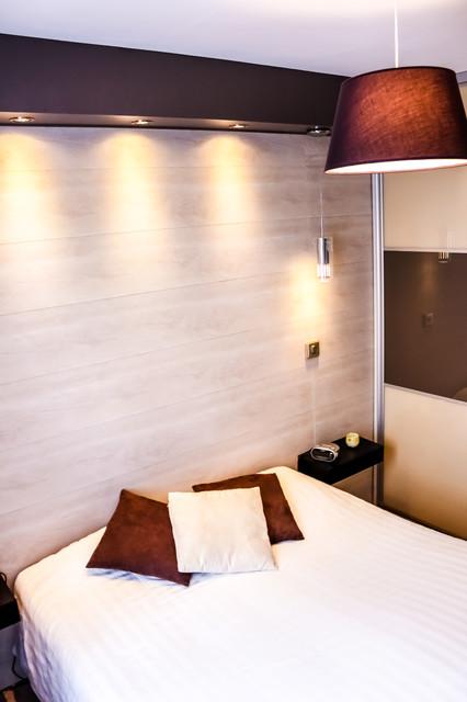 Chambre contemporaine - Modern - Schlafzimmer - Paris - von ...