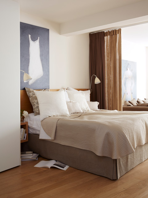 Chambre Contemporaine Grands Augustins Contemporary Bedroom Paris By A B Kasha Designs