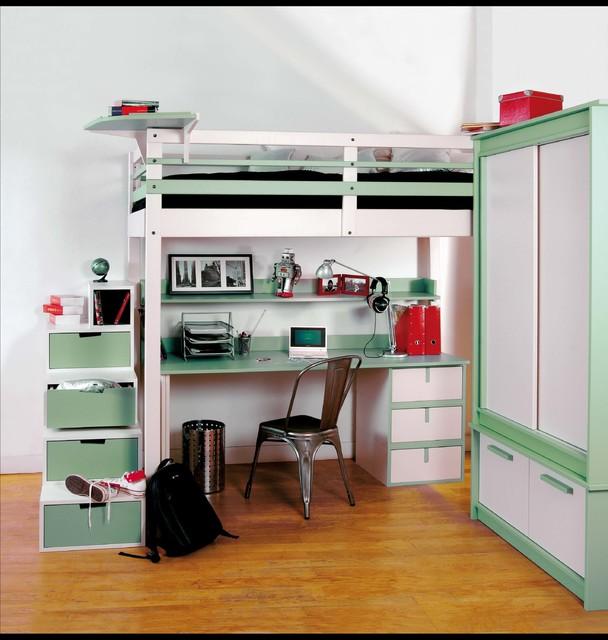 chambre d 39 ado modern bedroom paris by espace loggia. Black Bedroom Furniture Sets. Home Design Ideas