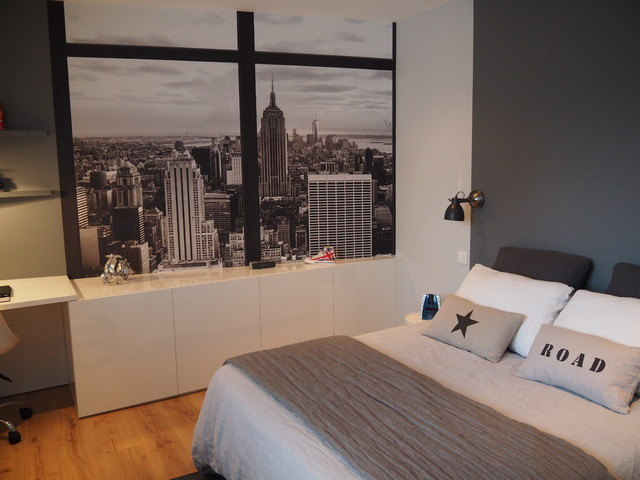 Chambre d 39 ado sur le th me de new york for Theme pour chambre ado fille