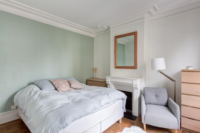 Chambre damis  MOTTE PICQUET  Scandinavian  Bedroom