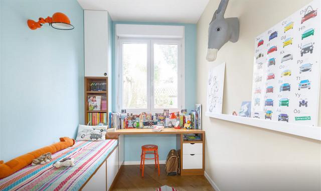 Chambre d 39 enfant avec mezzanine for Chambre enfant mezzanine
