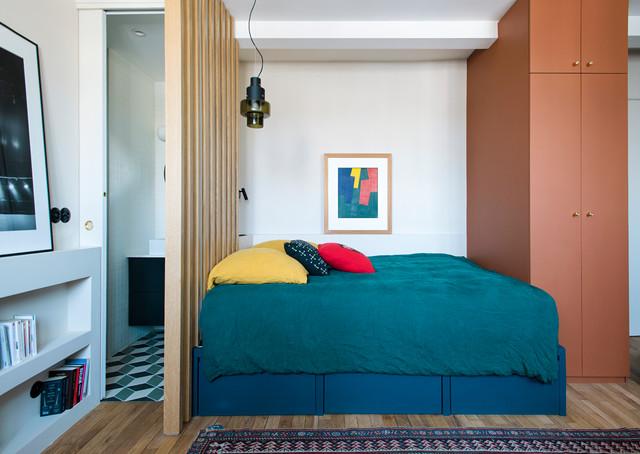 Chambre Jeune Adulte, Paris 16ème Eclectic Bedroom