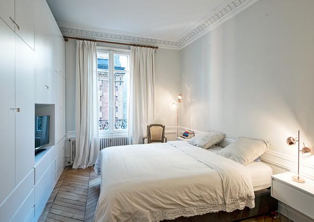 Chambre parentale - Klassisch modern - Schlafzimmer - Paris ...