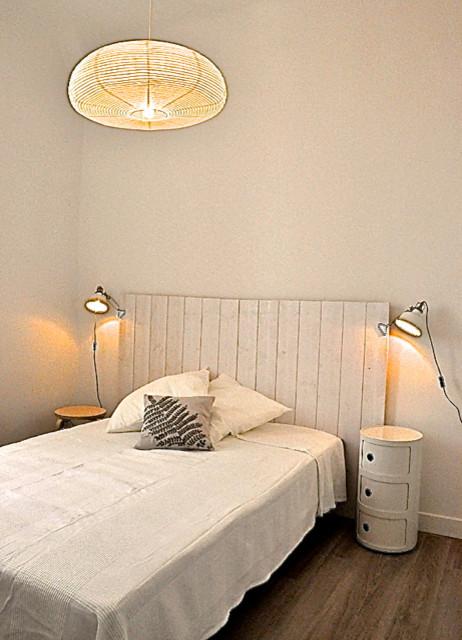 Chambre style épuré - blanc