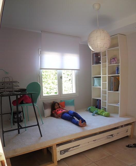 chambre theme miami. Black Bedroom Furniture Sets. Home Design Ideas