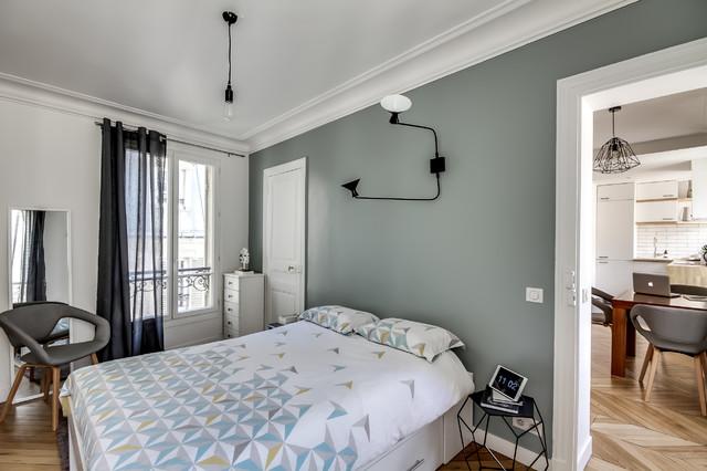 Contraste et minimalisme - Scandinave - Chambre - Paris - par ...