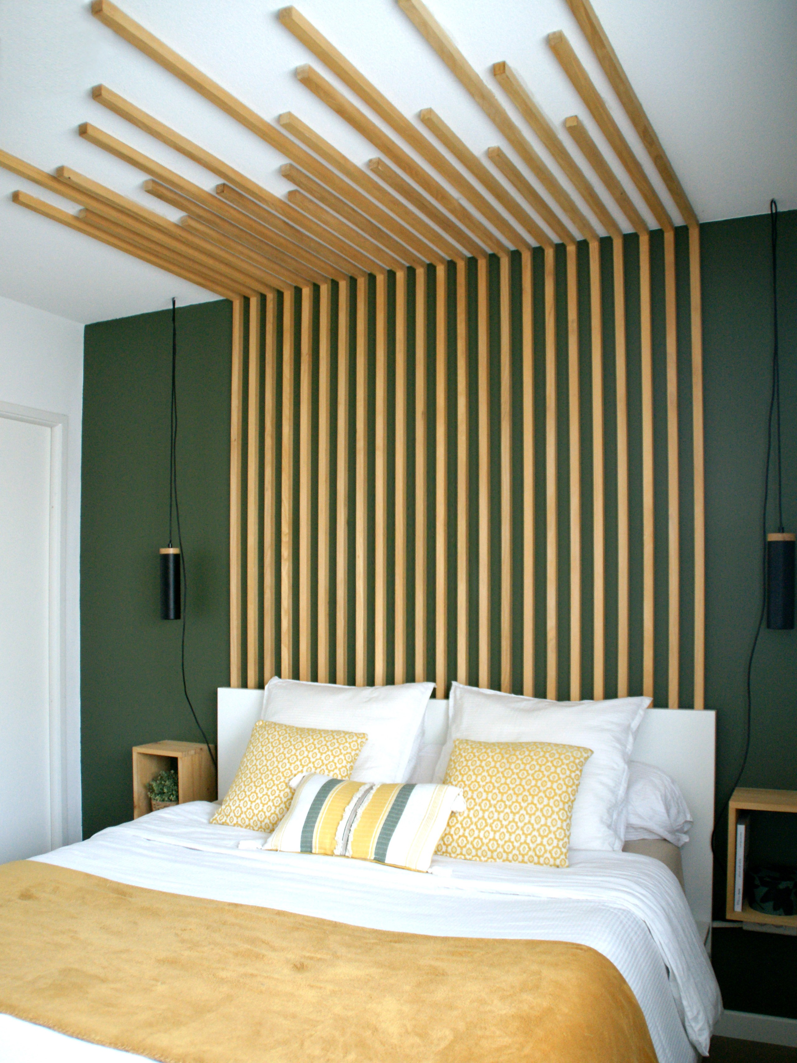 75 Beautiful Small Bedroom With Green Walls Pictures Ideas February 2021 Houzz