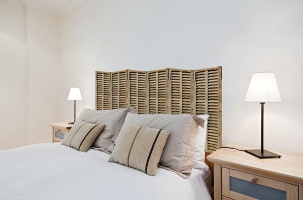 Décoration de la chambre imitation persiennes - Beach Style ...