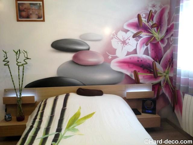 Décoration pour chambre Zen - Tropical - Bedroom - Paris - by Hard