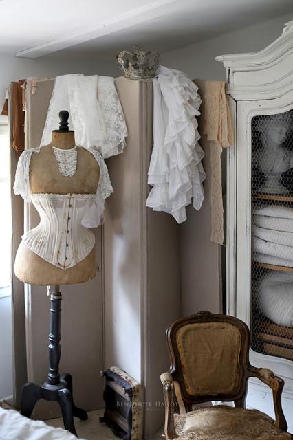 D coration romantique et shabby chic my little french home eclectique chambre - Deco romantique chic ...