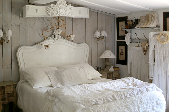d coration romantique et shabby chic my little home in france shabby chic style bedroom. Black Bedroom Furniture Sets. Home Design Ideas
