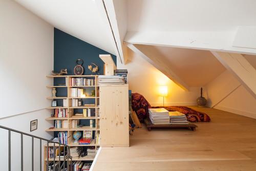 Modification de toiture et aménagement intérieur