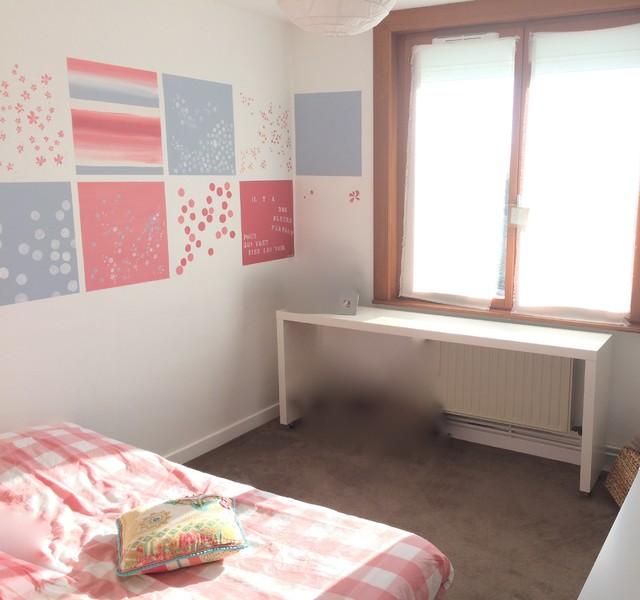 Chambre papier peint liberty meilleure inspiration pour votre design de maison for Chambre jeune fille