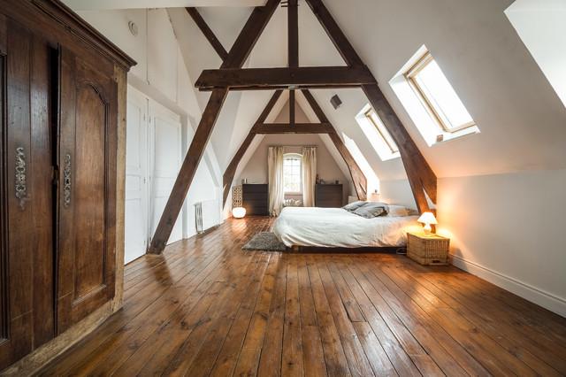 Intérieur Bretagne Pontivy farmhouse-bedroom