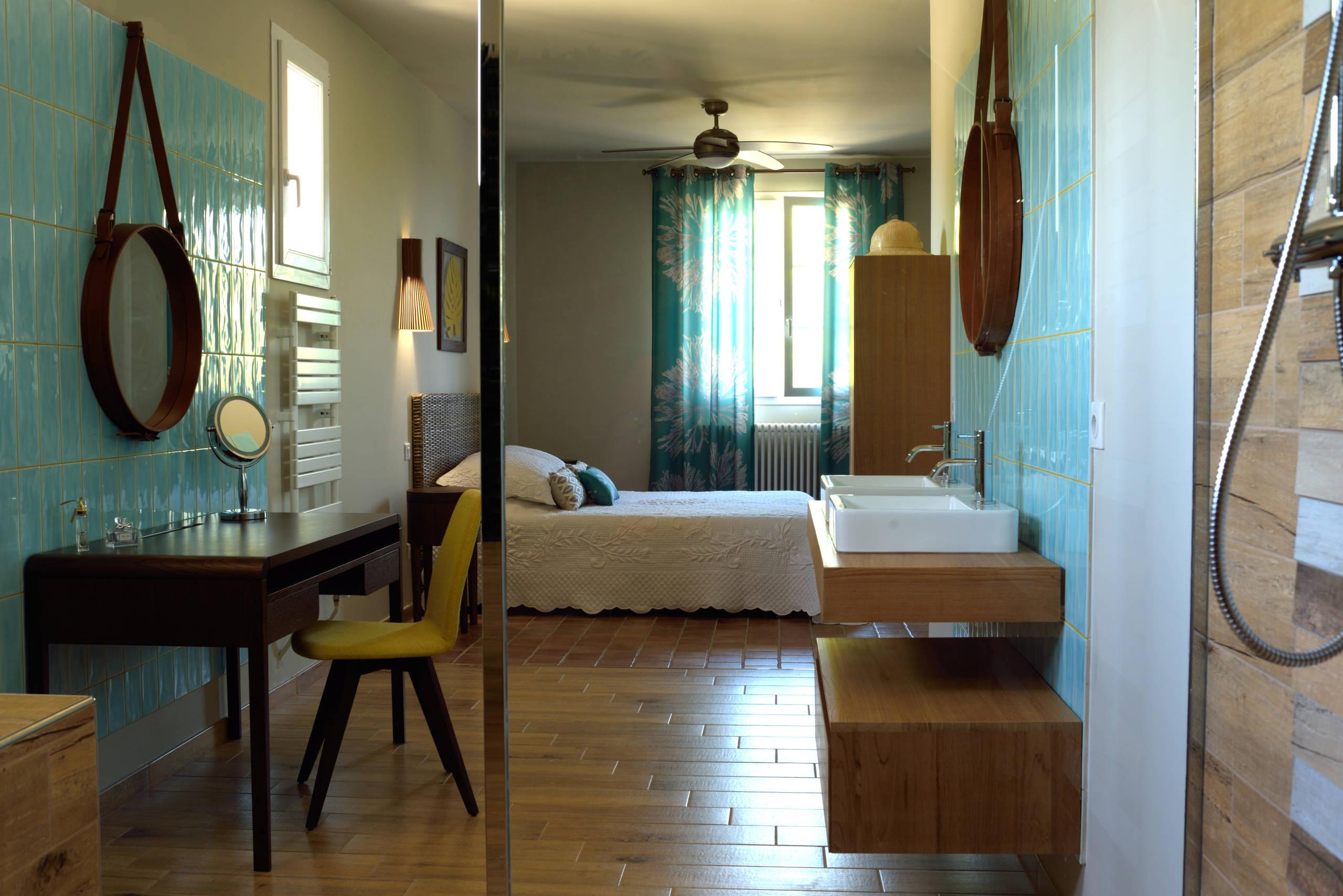 Carrelage Imitation Parquet 30X60 75 beautiful tropical terra-cotta floor bedroom pictures