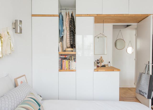10 idées d\'aménagements de dressing dans petite chambre