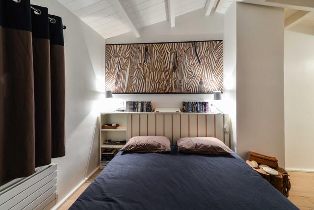 Maison de vacances beach style bedroom paris by roberta becherucci - Maison de vacances paris ...