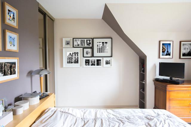 PARIS wall art contemporary-bedroom