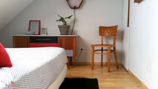 Réaménagement et décoration d\'une chambre sous combles à ...