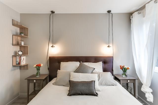 Vorher Nachher: Ein Schlafzimmer, Inspiriert Von Hoteleinrichtung
