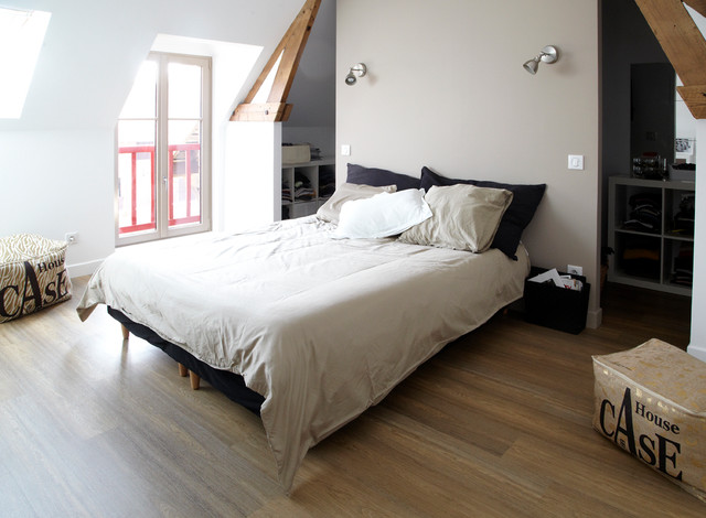 great eclairage chambre mansarde with eclairage chambre mansarde. Black Bedroom Furniture Sets. Home Design Ideas