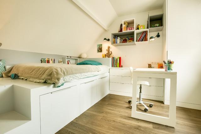 Renovation de deux chambres d\'adolescents et de leur salle ...