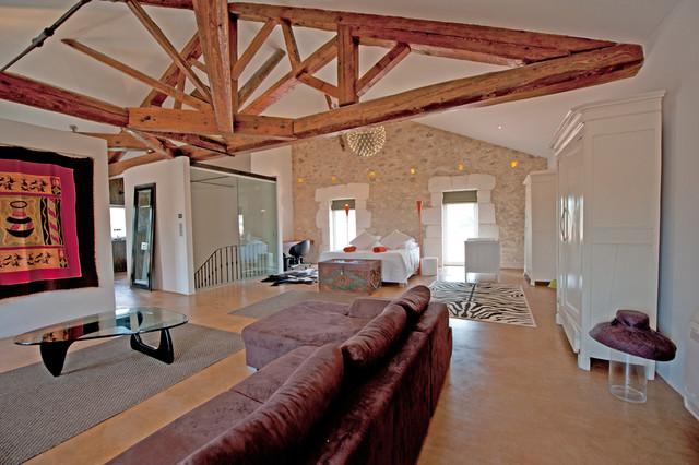 renovation maison de maitre contemporary bedroom. Black Bedroom Furniture Sets. Home Design Ideas