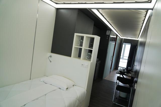 résidence étudiante jean prouvé - moderne - chambre - reims - par