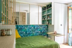Avant/Après : À Paris, 14 m² optimisés se mettent au vert