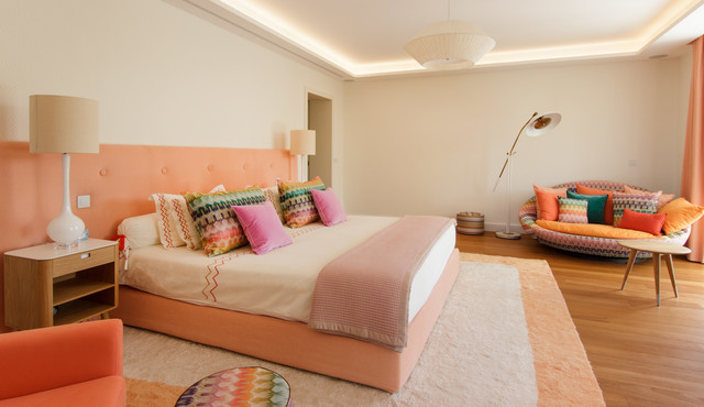 Seventies house - Midcentury - Bedroom - Nice - by D&K Interiors ...
