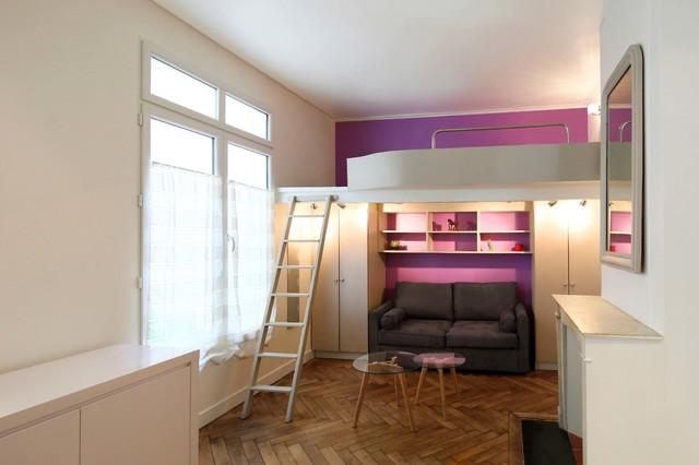 Aménager un petit espace : Zoom sur trois studios de moins de 20 m²