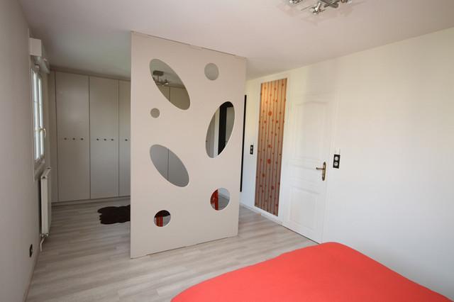 Chambre interieur architecte id e for Eclairage chambre parentale