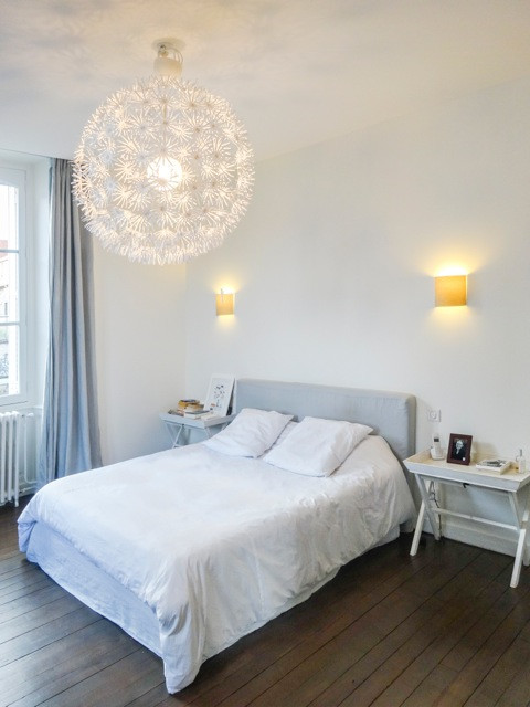 Suite parentale envie de bleu for Chambre parentale bleue